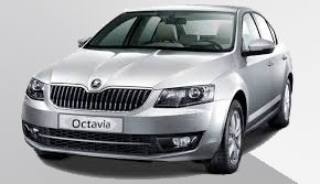 Scoda Octavia rental in Ios Greece