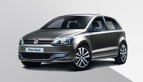 VW POLO rental in ios greece